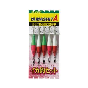 ヤマシタ(YAMASHITA) イカ釣セット ON 4-2KN 5本 ITSON42KN5A