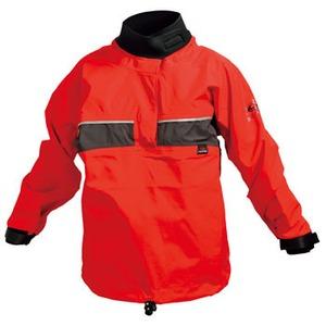 【送料無料】ヒコ クエスト ジュニア パドリングジャケット J2(130cm) レッドxグレー