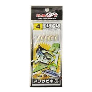 マルシン漁具(Marushin) サビキサバ皮レインボー 4号