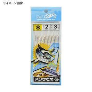 マルシン漁具(Marushin) サビキハゲ皮白 4号