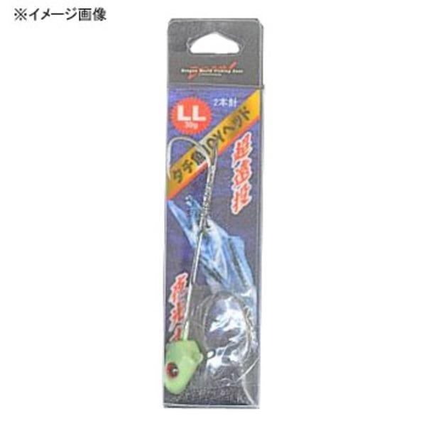 マルシン漁具(Marushin) タチウオJOYヘッド 2本針 ワームフック(ジグヘッド)