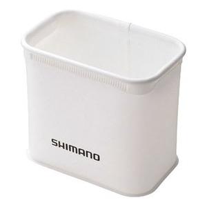 シマノ(SHIMANO) BK-109G 9L仕切バッカン BK-109G ホワイト バッカン・バケツ・エサ箱