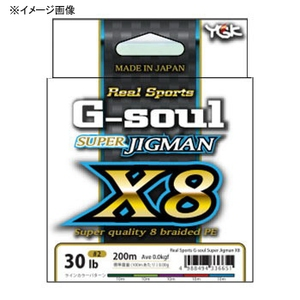 リアルスポーツ G−soul スーパージグマン X8 200m 30lb