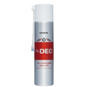 カーメイト(CAR MATE) 酸化分解で強力除菌・消臭 「ドクターデオ エアコン専用 スプレータイプ」 90ml シルバー D172