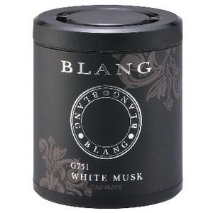 カーメイト(CAR MATE) 芳香剤 ブラング ブースター ドリンクホルダー用 ホワイトムスク 120g ブラック G751