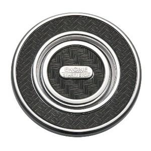 カーメイト(CAR MATE) ドレスアップパーツ プッシュスタートボタン用カバー スズキAタイプ カーボン調 DZ190