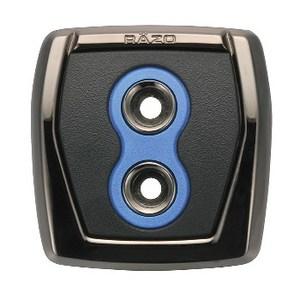 カーメイト(CAR MATE) RAZO GTスペック ペダル パーキングブレーキ用 ブルー RP108BL