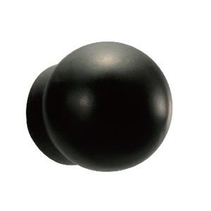 カーメイト(CAR MATE) リアワイパー用ボルトキャップ 丸型 クロームメッキ ブラック LS379