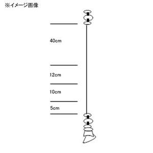 シマノ(SHIMANO)ノセ掛カワハギ仕掛け 集寄ビーズタイプ 糸付鈎10本セット RG−KB4L