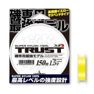ヤマトヨテグス(YAMATOYO) トラスト磯 150m 1.5号 イエロー