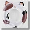 ドウシシャ(DOSHISHA) 桑沢デザインうきわ 80cm ネコは海でも丸くなる