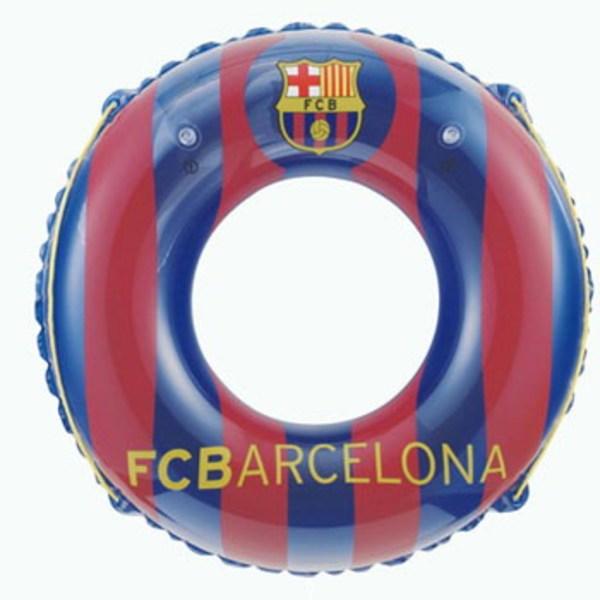 ドウシシャ(DOSHISHA) サッカークラブチームうきわ 100cm Futbol Club Barcelona FCB-13001 フロートマット&浮き輪