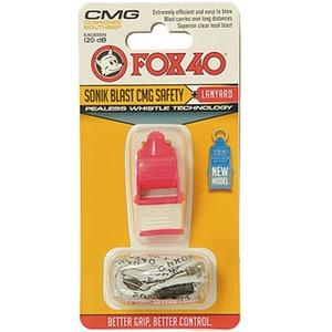 FOX40(フォックス40) ソニックブラストCMG マルチ ピンクxホワイト