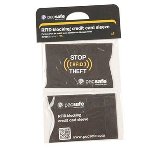 pacsafe(パックセーフ) RFIDセーフ Sleeve 25 PE380BK