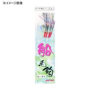 ヤマイ・ステキ針 糸付五目毛針メバル針 K-80