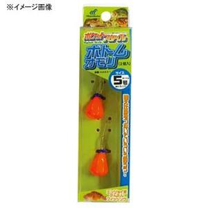 アウトドア&フィッシング ナチュラムハヤブサ(Hayabusa) ポケットスタイル ボトムオモリ 2個入 8 #4 オレンジ HA591