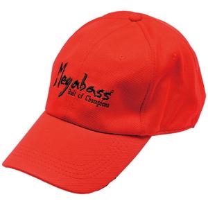 メガバス(Megabass) FIELD CAP(フィールドキャップ) レッドxブラック(BRUSH LOGO)