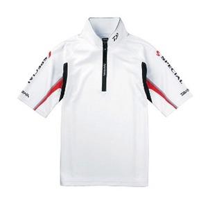 ダイワ(Daiwa) DE-7302 スペシャル ウィックセンサー・ジップアップ半袖メッシュシャツ 04515848 フィッシングシャツ