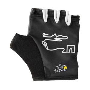 Tour de France(ツール ド フランス) YD-2285 GELハーフフィンガーグローブ S ブラック