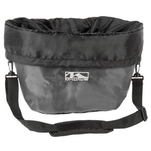 M-WAVE(エムウェーブ) YD-2323 UTRECHT BAG バスケットバッグ ブラック