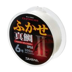 ダイワ(Daiwa) ディーフロン ふかせ 真鯛II 300m 6号 ナチュラル 4627232