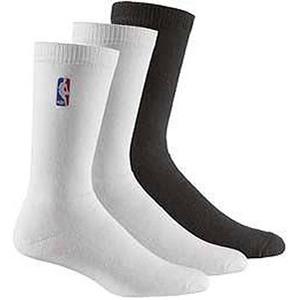 【送料無料】adidas(アディダス) AJP-TO554 NBA SOCK 3pp 24-26cm (G89558)ホワイトxホワイトxブラック