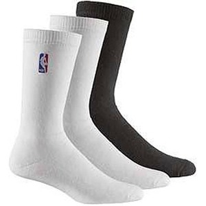 【送料無料】adidas(アディダス) AJP-TO554 NBA SOCK 3pp 30-32cm (G89558)ホワイトxホワイトxブラック