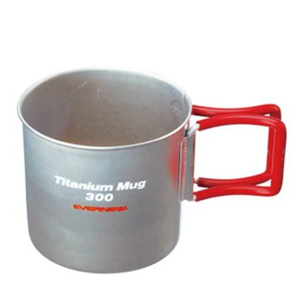 EVERNEW(エバニュー) Tiマグカップ 300FH EBY266R チタン製マグカップ