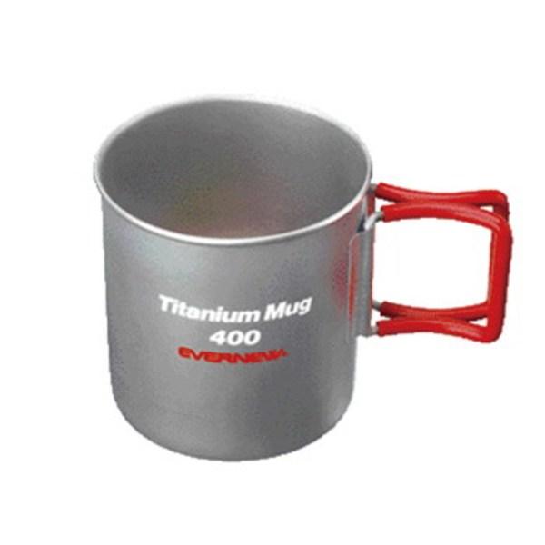 EVERNEW(エバニュー) Tiマグカップ 400FH EBY267R チタン製マグカップ