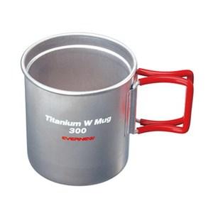 EVERNEW(エバニュー) Ti Wマグカップ300FH EBY269R チタン製マグカップ
