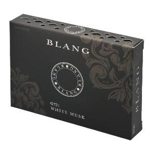 カーメイト(CAR MATE) 芳香剤 ブラングブースタードア ホワイトムスク 130g ブラック G721