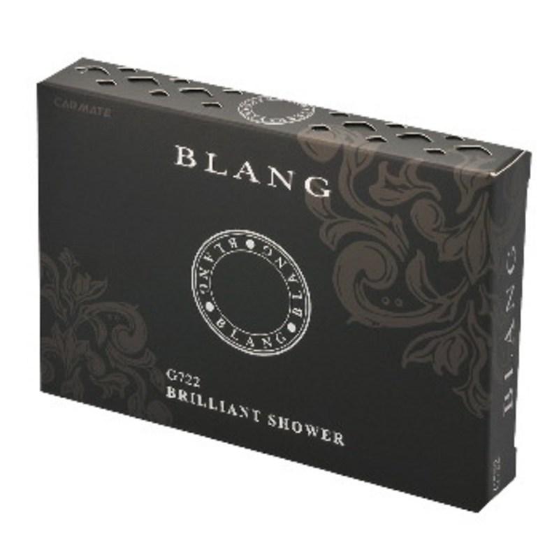 カーメイト(CAR MATE) 芳香剤 ブラングブースタードア ブリリアントシャワー 130g ブラック G722