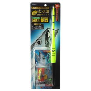 冨士灯器 こだわり太刀魚仕掛けセットタイプL3 LG