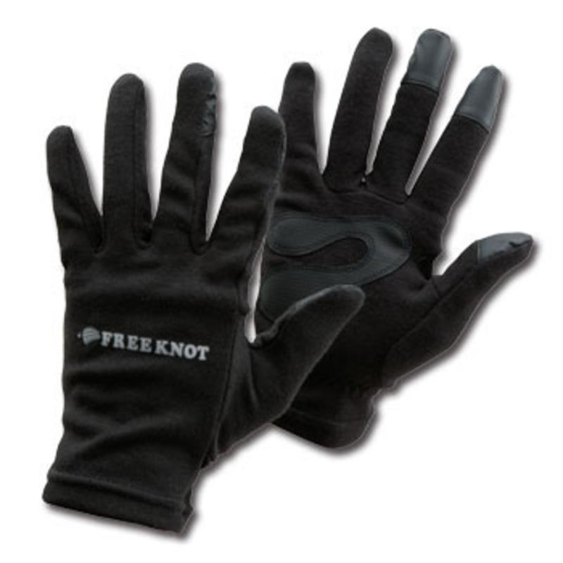 フリーノット(FREE KNOT) レイヤーテック Eタッチグローブ M ブラック Y4607