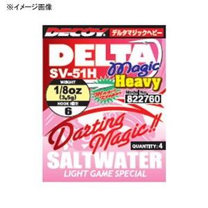 カツイチ(KATSUICHI) DECOY SV-51H デルタマジックヘビー 3/16oz #4