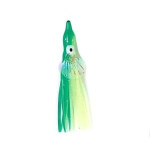 ナカジマ オーロラシェル タコハチベイト 3.0号 GGY(夜光グリーンイエロー)