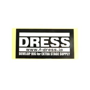 ドレス(DRESS)ロゴステッカー
