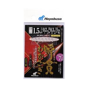 ハヤブサ(Hayabusa) 瞬貫わかさぎ 秋田キツネ型7本 オモリ付 C243