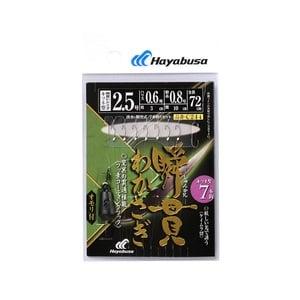 ハヤブサ(Hayabusa) 瞬貫わかさぎ キツネ型7本 オモリ付 鈎1ハリス0.3 C244