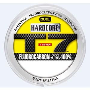 デュエル(DUEL) HARDCORE T7(ハードコア T7) 80m 6Lbs スーパークリア H3361