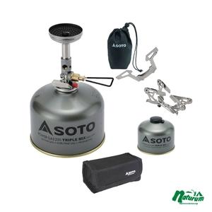 SOTO マイクロレギュレーターストーブ ウインドマスター 限定セット【お得な4点セット】 SOD-310+SOD-460 ガス式