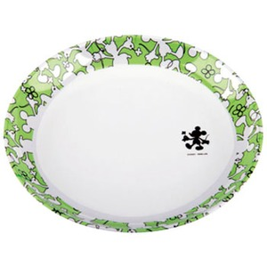 パール金属 ディズニー メラミン深型プレート(ミッキーマウス・クローバー) MA-1323 メラミン&プラスティック製お皿