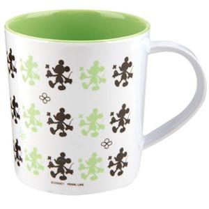 パール金属 ディズニー メラミンマグカップ(ミッキーマウス・クローバー) 380ml MA-1327