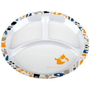 パール金属 ディズニー メラミンランチプレート(くまのプーさん・ノルディック) MA-1336 メラミン&プラスティック製お皿