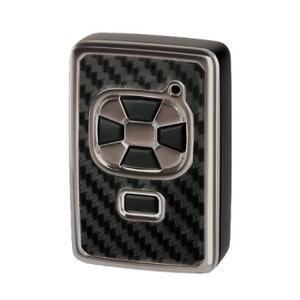 カーメイト(CAR MATE) リモコンキーカバー トヨタ Aタイプ カーボン調&ブラックメッキ DZ213