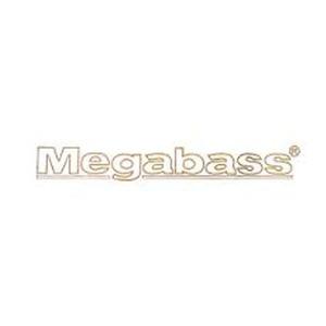 メガバス(Megabass)カッティングステッカー(フレームロゴ)