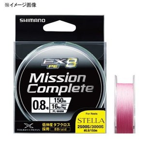 シマノ(SHIMANO) ミッション コンプリート EX8 150m PL-M58M Tピンク 0.4