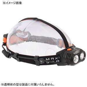 マキシマスパーク ハイパワーデュアルアイLEDヘッドライト  ブラック×オレンジ