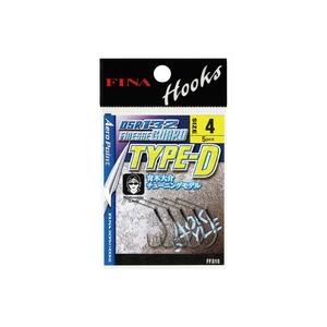 フィナ(FINA) DSR132 FINESSE GUARD TYPE-D FF310 ワームフック(マス針タイプ)