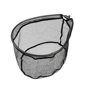 アルミフレーム(ワンピース)ラバーコーティングネット付 35×39cm ガンメタ